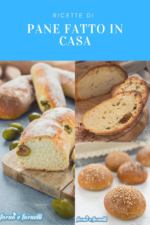 Pane fatto in casa raccolta di ricette