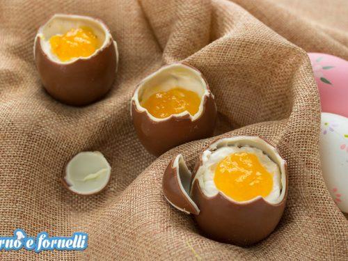 Finte uova alla coque dolci