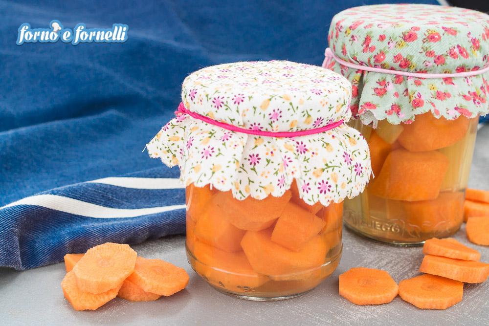 carote sottaceto