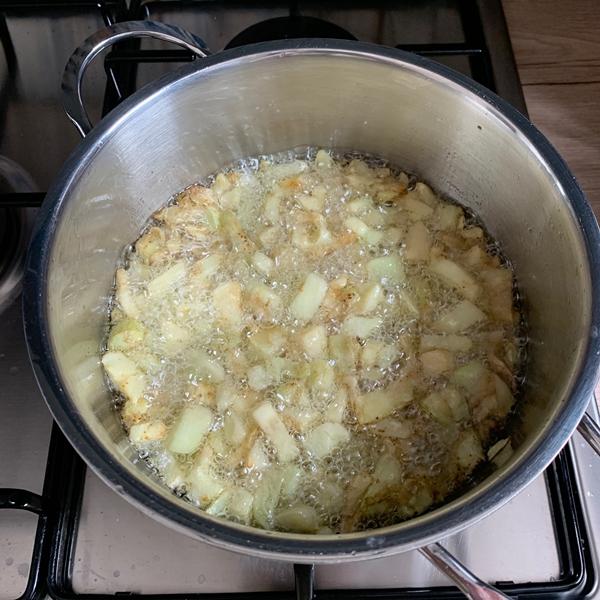 melanzane ripiene di riso passo passo