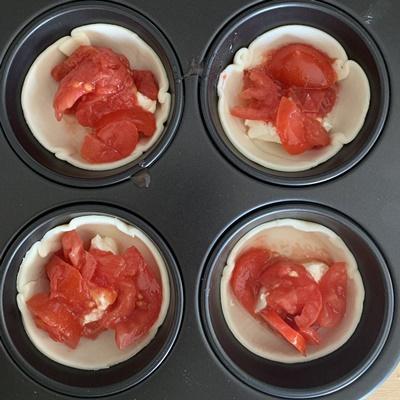 tartellette salate al pomodoro passo passo