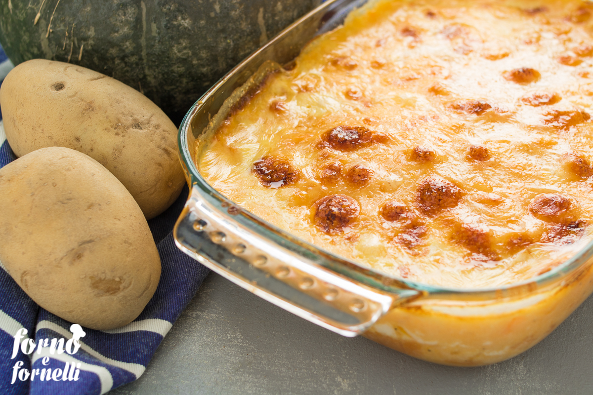 gateau di zucca e patate