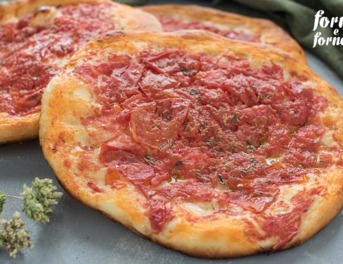 Pizzette al forno al pomodoro