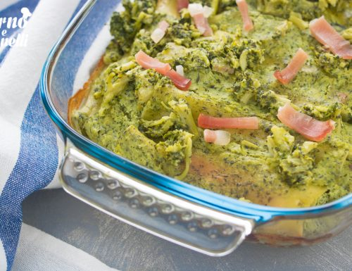 Cannelloni ripieni ai broccoli