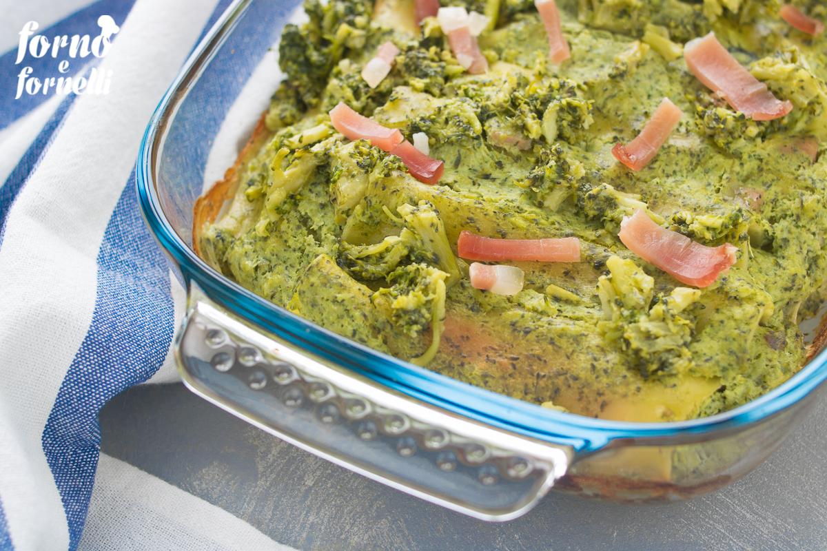 cannelloni al forno ripieni ai broccoli e ricotta