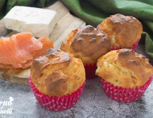 Muffin al salmone