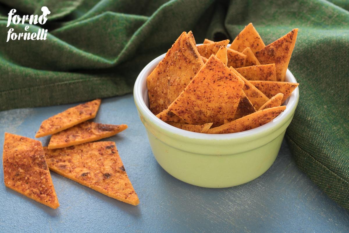 nachos fatti in casa tortillas chips 2