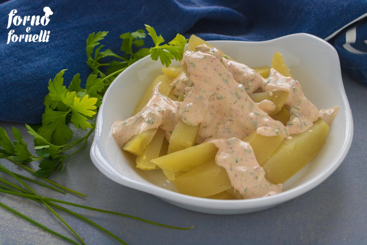 insalata di patate con yogurt