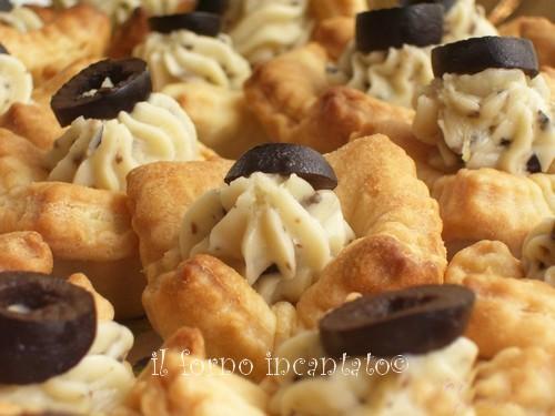 finger food - tartellette con crescenza