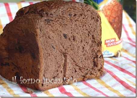 pane dolce cioccolato
