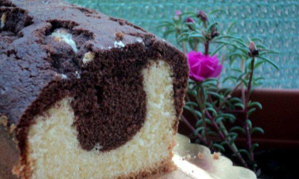 Plum cake variegato (ricetta di Luca Montersino)