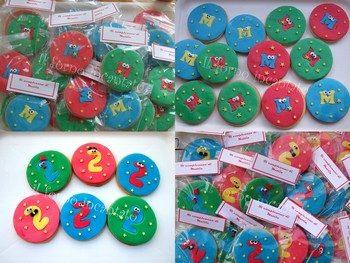 Biscotti decorati per Mattia