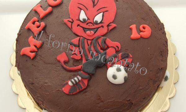 Torta Mascotte Milan