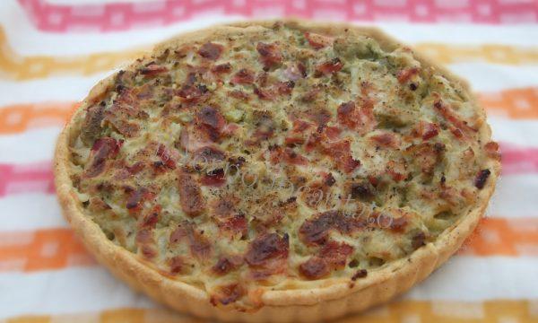 Torta rustica con broccolo siciliano