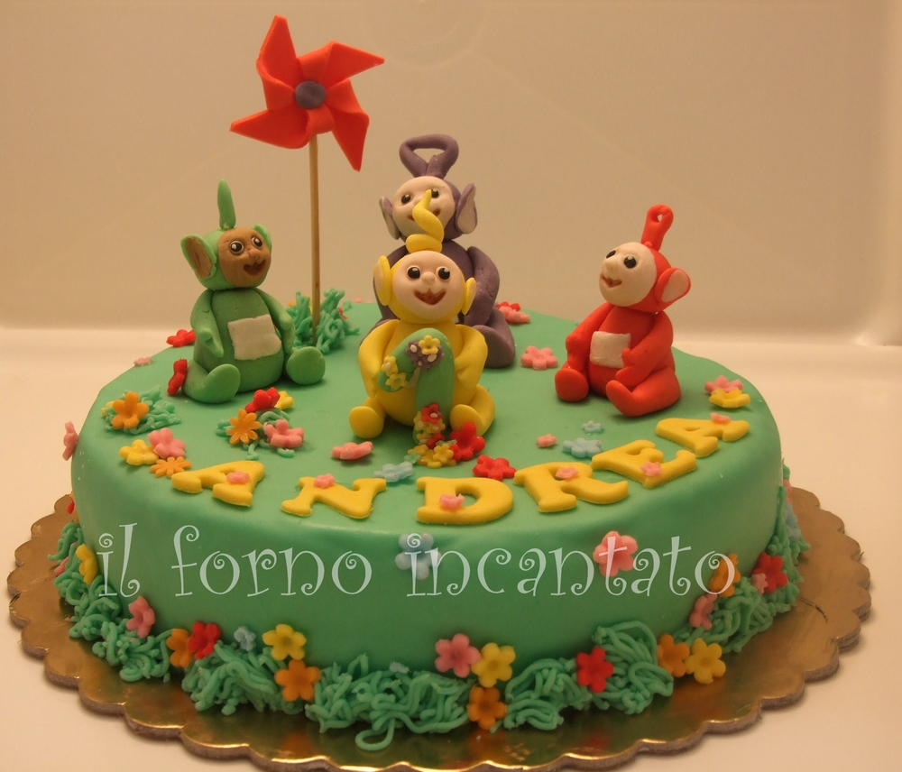 torta teletubbies