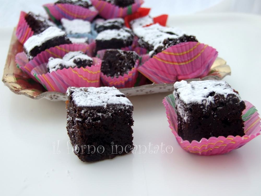 brownies caramello