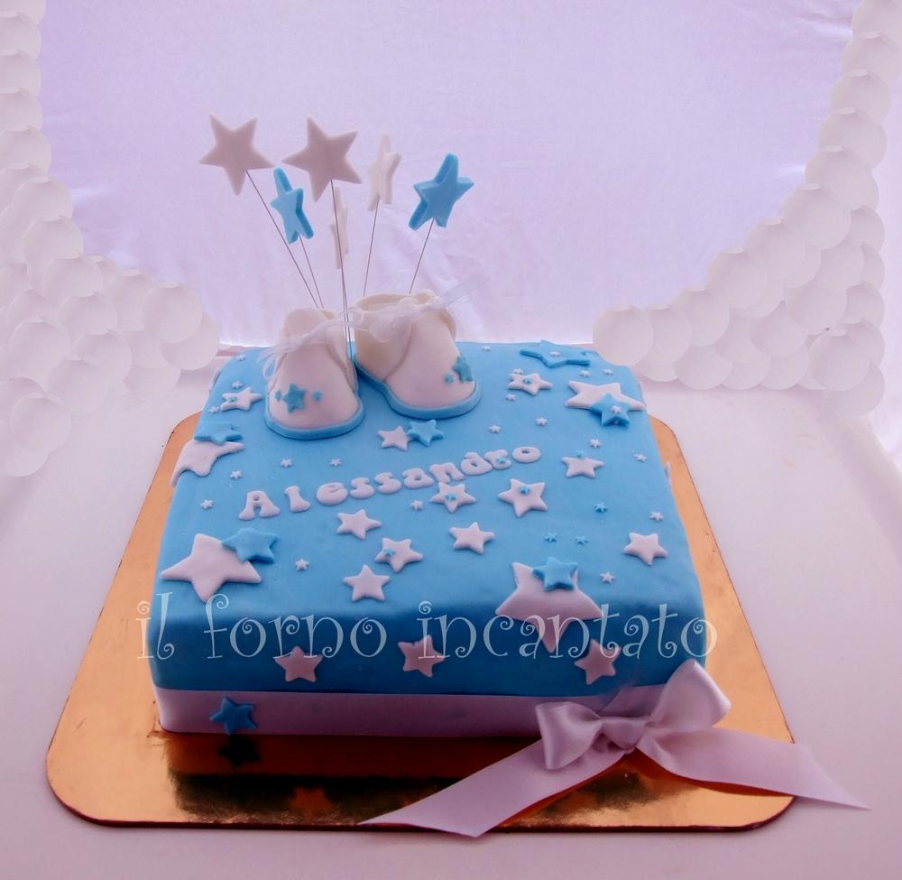 torta battesimo alessandro