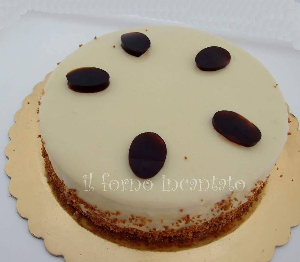 torta moderna caffè nocciola