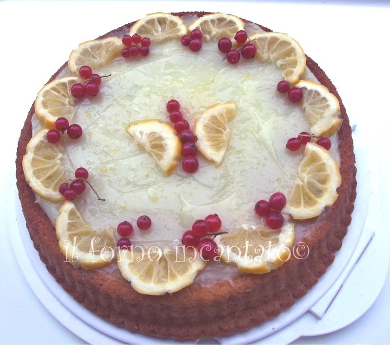 torta limone vegan