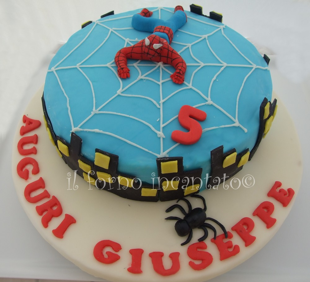 torta spiderman pdz