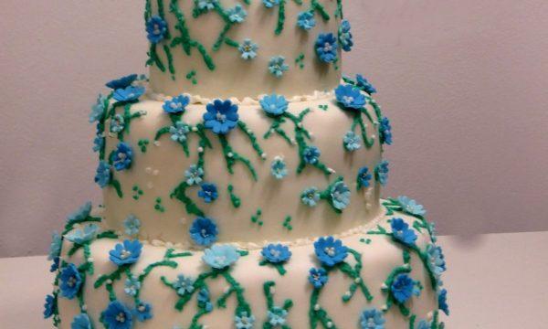torta decorata 3 piani