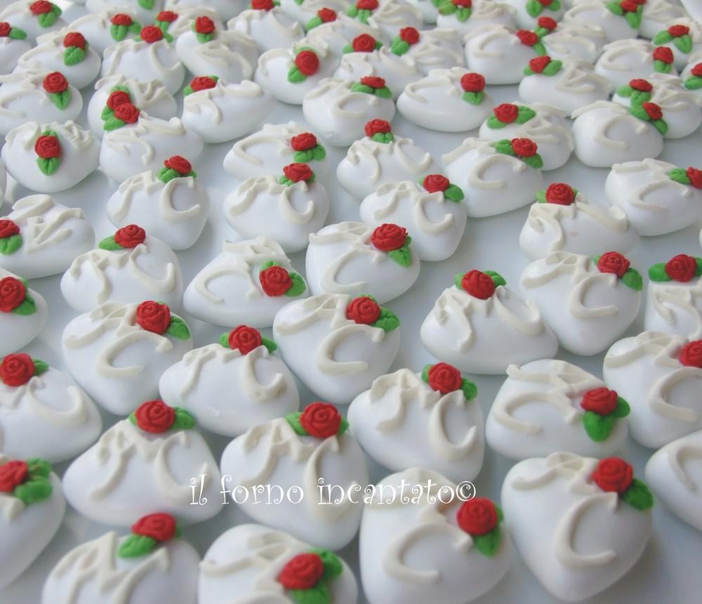 confetti decorati matrimonio