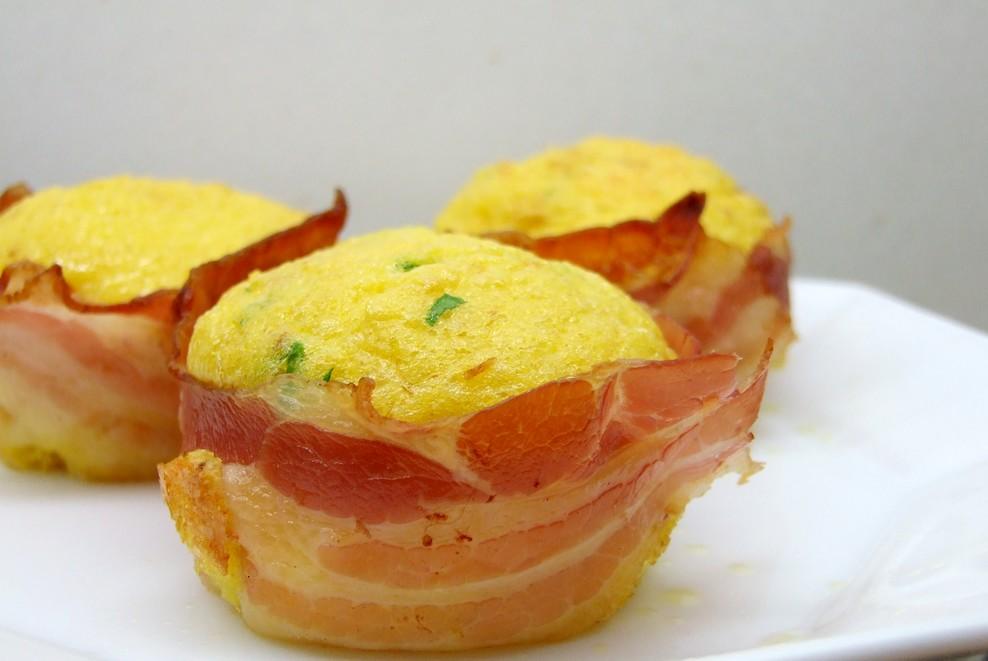 muffin uova & bacon