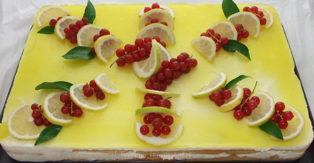 tiramisu limone
