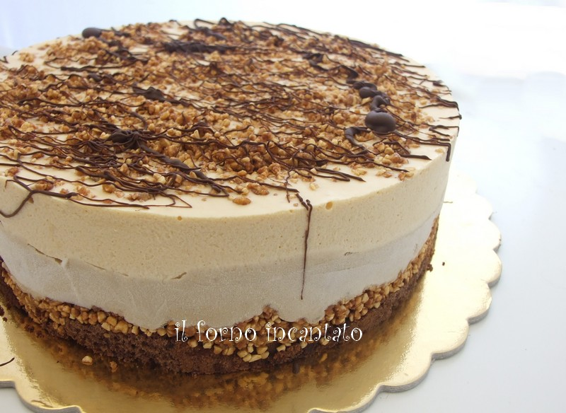 torta caffè caramello