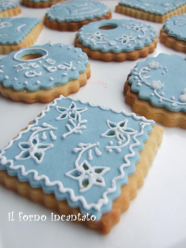 biscotti ghiaccia reale