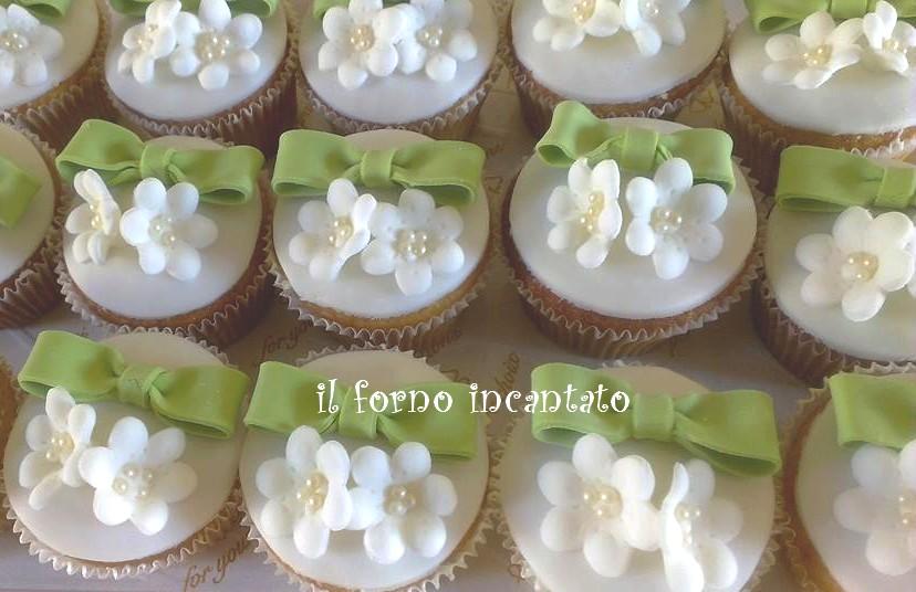 cupcake fiocco fiori