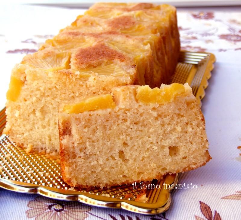 plumcake ananas cocco