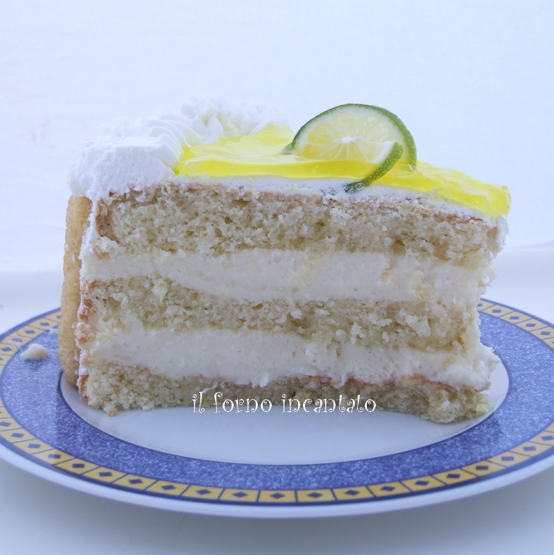 torta crema limone