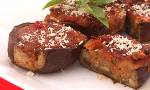 melanzane ripiene, ricetta vegetariana