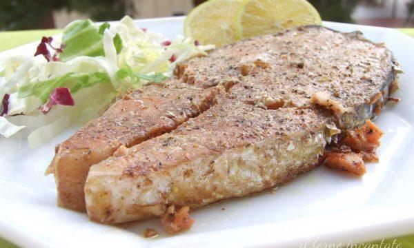 Salmone fresco in agrodolce ricetta di pesce