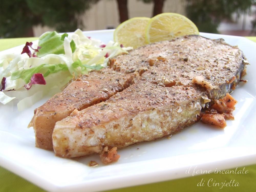 salmone agrodolce