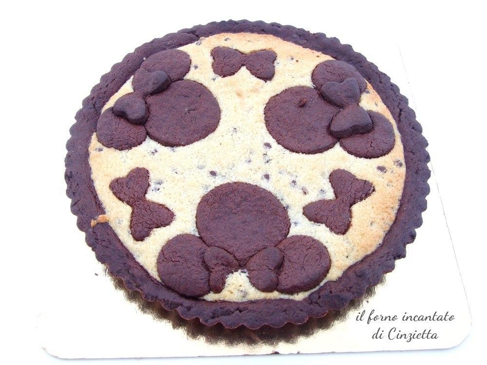 crostata cacao frangipane