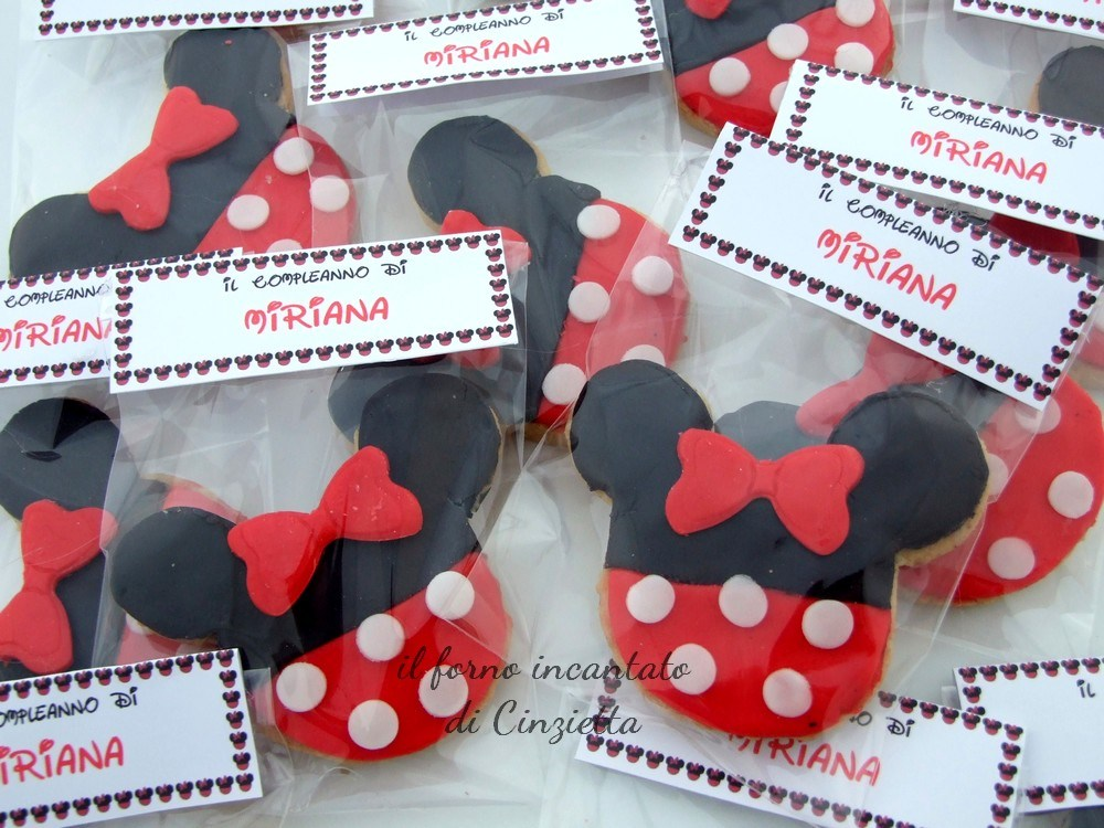biscotti minnie disney