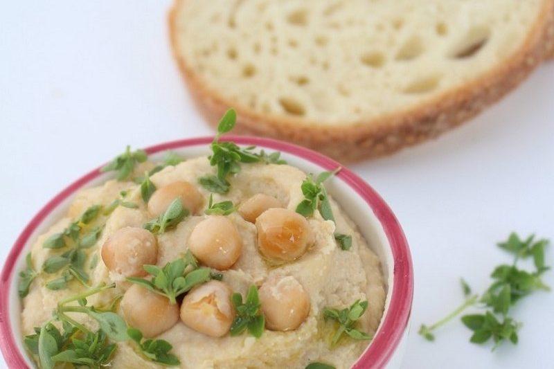 Hummus di ceci, ricetta velocissima