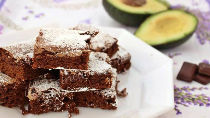brownies cioccolato avocado