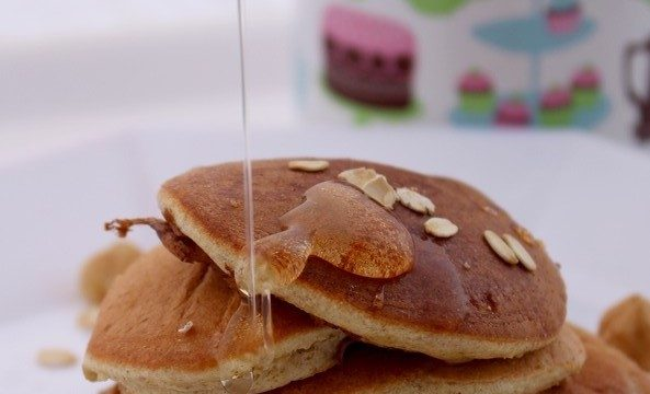 Pancakes leggeri all'avena