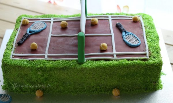 Torta campo da tennis (senza glutine)