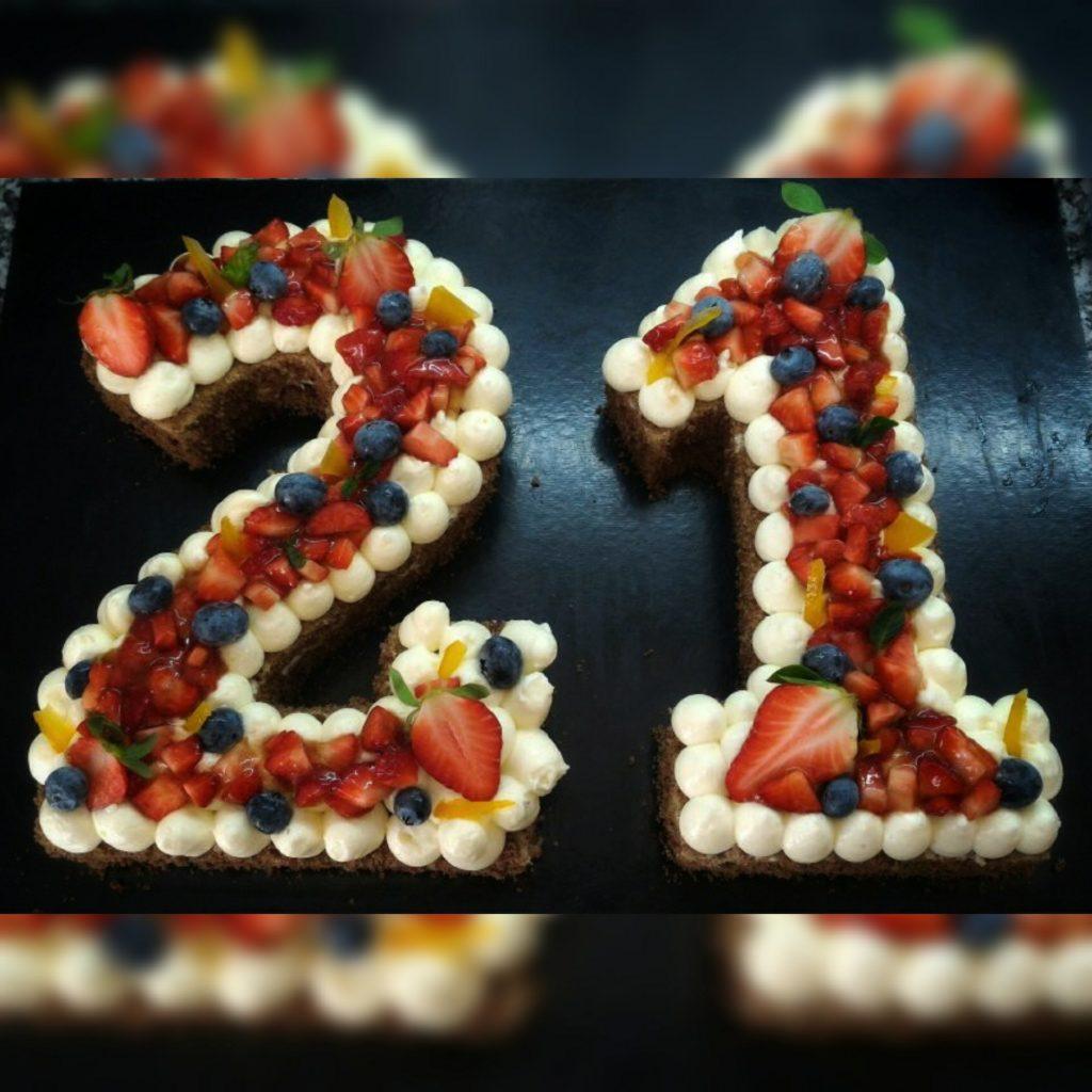 creamtart o torta a numero