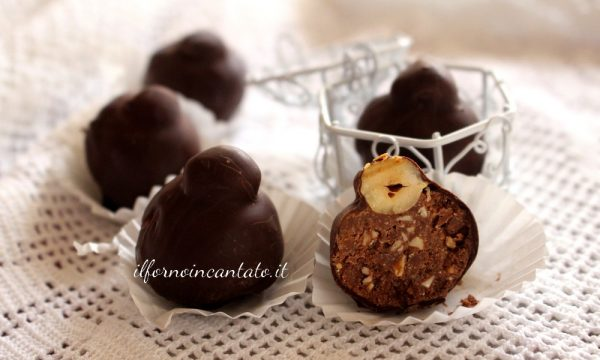Cioccolatini alle nocciole home made