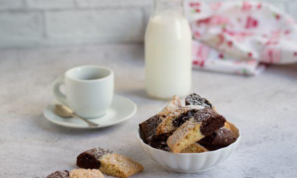 Biscotti Parigini vaniglia e cacao