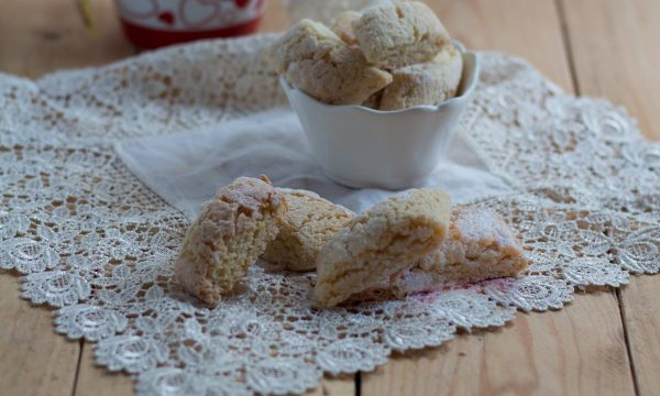 Biscotti parigini al limone