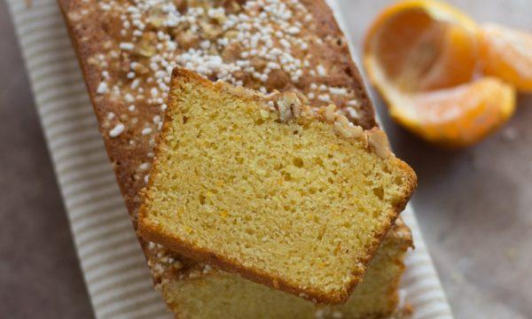 Plumcake con arancia frullata nell'impasto