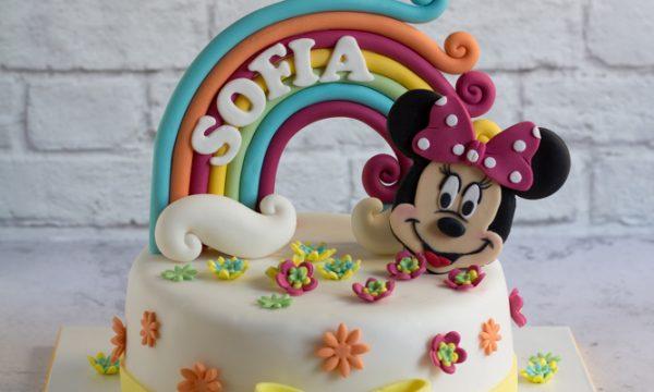 Torta decorata primo compleanno