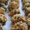 Polpette di spinaci in crosta