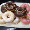 Mini donuts con la piastra